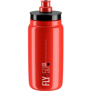 ELITE láhev FLY červená/černé logo, 550 ml - Láhev na pití