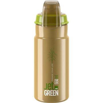 Elite JET GREEN PLUS hnědá/bílé logo 550 ml - Láhev na pití