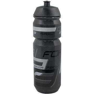 Force Savior 0,75 l,transparentní černá-šedá - Láhev na pití