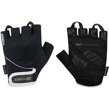 Force GEL, černé S - Cyklistické rukavice