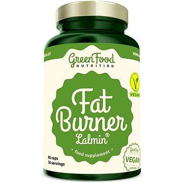 GreenFood Nutrition Fat Burner 60 kapslí - Spalovač tuků