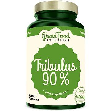 GreenFood Nutrition Tribulus 90% 90 kapslí - Anabolizér