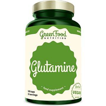 GreenFood Nutrition Glutamin 120 kapslí - Aminokyseliny