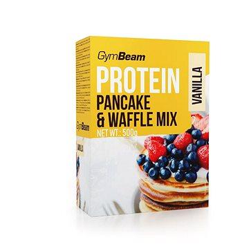 GymBeam Pancake & Waffle Mix, vanilla - Palačinky