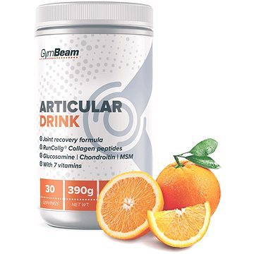 GymBeam Articular Drink 390 g, orange - Kloubní výživa