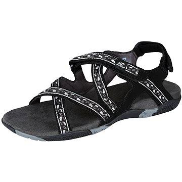 Hannah Fria Lady černé/bílé EU 42 / 280 mm - Sandály
