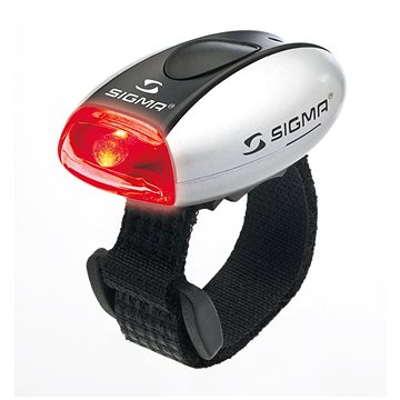 Sigma Micro stříbrná - Světlo na kolo
