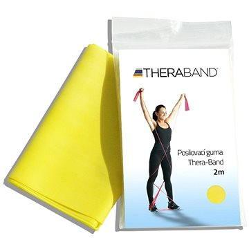 Thera-Band 2m žlutá - Posilovací guma