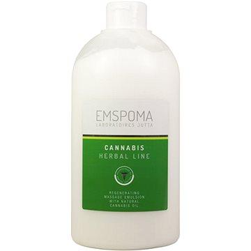 Emspoma Herbal Cannabis masážní emulze 1 l - Emulze