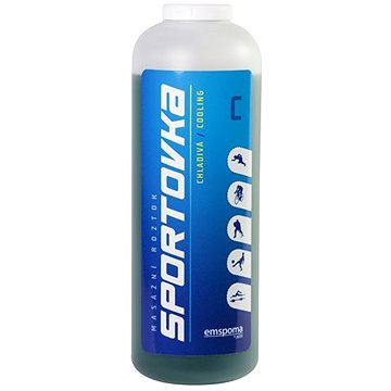 Sportovka Chladivá masážní roztok 550 ml  - Roztok