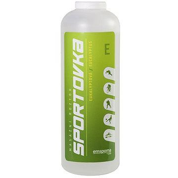 Sportovka Eukalyptová mazáží roztok 550 ml  - Roztok