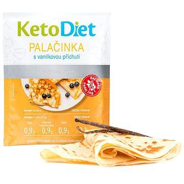 KetoDiet proteinové palačinky s vanilkovou příchutí (7 porcí) - Palačinky