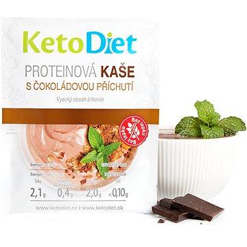KetoDiet proteinová kaše s čokoládovou příchutí (7 porcí) - Proteinová kaše