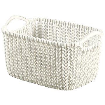 Curver Knit košík 3L krémový - Úložný box