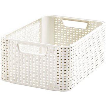 Curver Style box M krémový - Úložný box