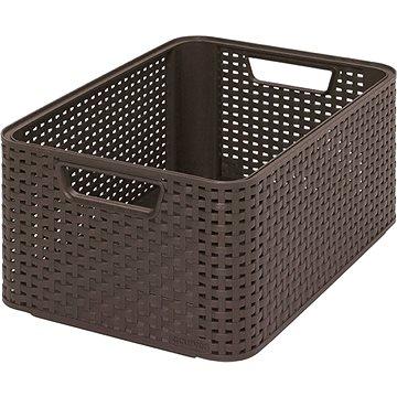 Curver Style box M tmavě hnědý - Úložný box