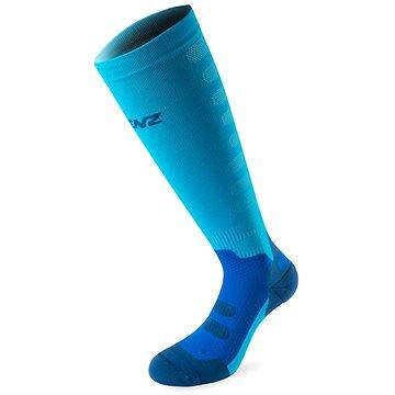 Lenz Compression 1.0 azur 50 vel. M - Kompresní ponožky