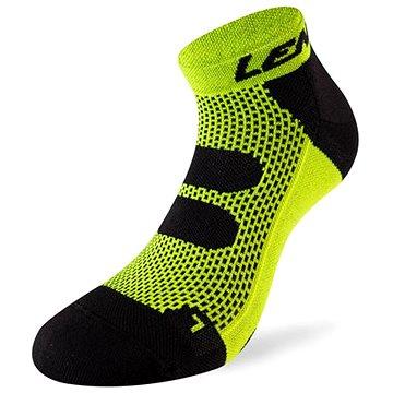 Lenz Compression 5.0 short neon yellow/black 50 vel. 45-47 - Kompresní ponožky