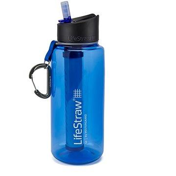 LifeStraw GO2 Stage 1l  blue - Filtrační láhev