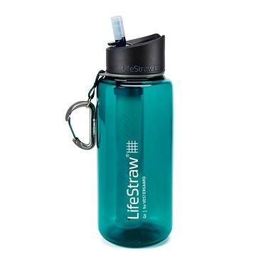 LifeStraw GO2 Stage 1l – dart teal - Filtrační láhev