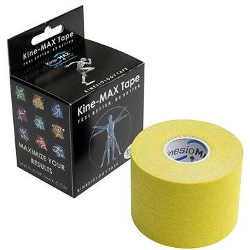 Kine-MAX Classic kinesiology tape žlutá - Tejp
