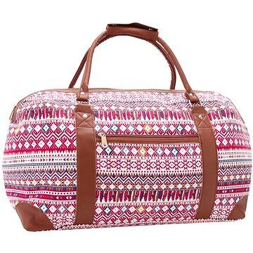 JAZZI 2173 - červená - Cestovní taška