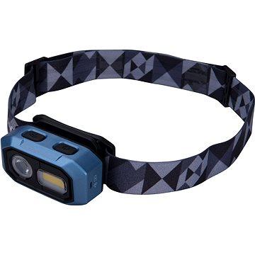 EXTOL LIGHT čelovka 480lm, USB nabíjení, IR čidlo, OSRAM LED+COB LED - Čelovka