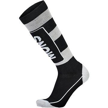Mons Royale Mons Tech Cushion Sock Black / Grey L - Ponožky