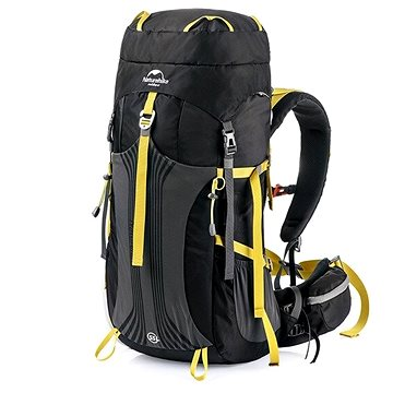 Naturehike trekový batoh Hiking 55+5l černý - Turistický batoh