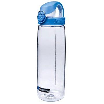 Nalgene OTF Clear 650 ml Seaport Blue&White Cap - Láhev na pití