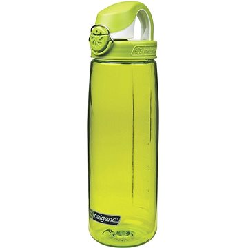 Nalgene OTF Spring Green 650 ml with Iguana Green & White Cap - Láhev na pití
