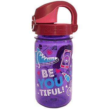 Nalgene OTF 350 ml Purple Beet BeYouTiful - Láhev na pití