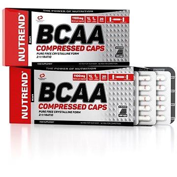 Nutrend BCAA Compressed caps, 120 kapslí - Aminokyseliny