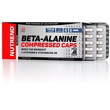 Nutrend Beta-Alanine Compressed caps, 90 kapslí - Aminokyseliny
