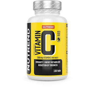 Nutrend Vitamín C se šípky, 100 tablet - Vitamín