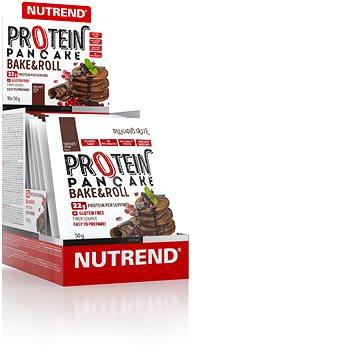 Nutrend Protein Pancake, 10 x 50 g, čokoláda+kakao - Palačinky
