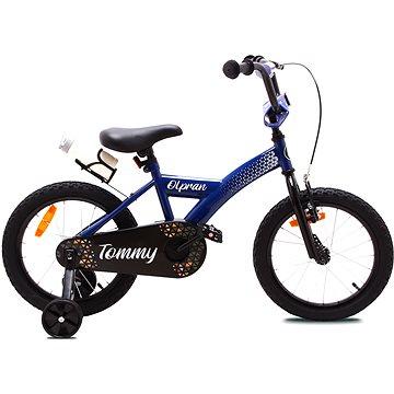 """OLPRAN Tommy 16"""", modrá/černá - Dětské kolo"""