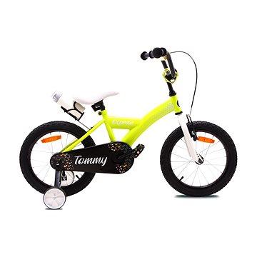 """OLPRAN Tommy 16"""", žlutá/bílá - Dětské kolo"""