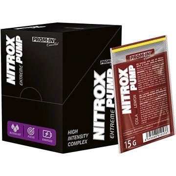 PROM-IN Essential Nitrox Pump Extreme 10 x 15 g cola s citrónem - Anabolizér