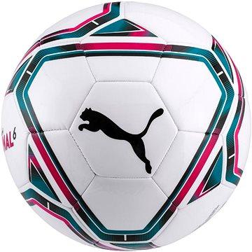 PUMA Final 6 MS Ball bílý vel. 4 - Fotbalový míč
