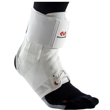 McDavid Ankle Brace With Straps, bílá M - Ortéza na kotník