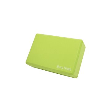 Sharp Shape Yoga block green - Blok