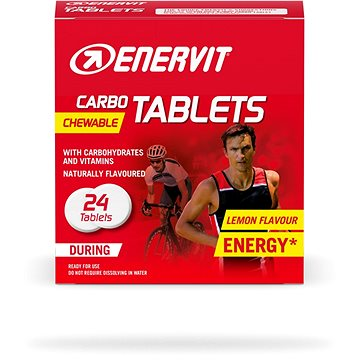 Enervit Carbo Tablets (24 tablet) citron - Energetické tablety