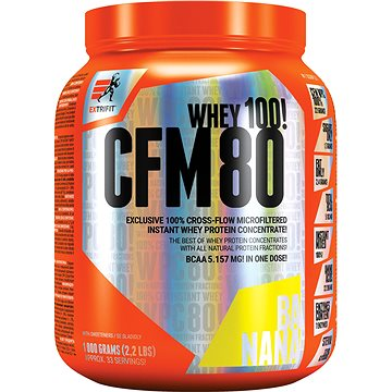 Extrifit CFM Instant Whey 80, 1000g , banana - Protein