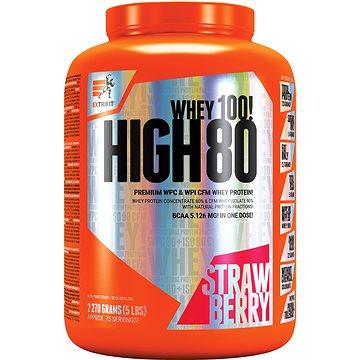 Extrifit High Whey 80, 2270g, strawberry - Protein