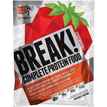 Extrifit Break! Protein Food 90 g strawberry - Smoothie