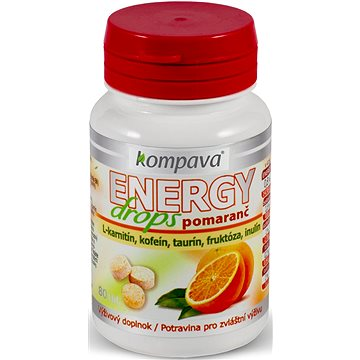 Kompava Energy Drops - Energetické tablety
