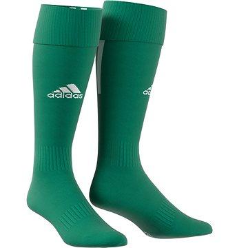 Adidas Performance SANTOS SOCK 18, zelená/bílá, EU 40 - 42 - Štulpny