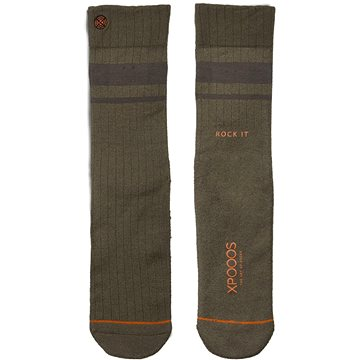 XPOOOS Essential Bamboo, khaki, EU 43 - 46 - Ponožky