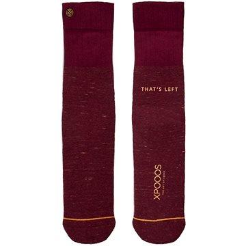 XPOOOS Essential Bamboo, červená, EU 39 - 42 - Ponožky
